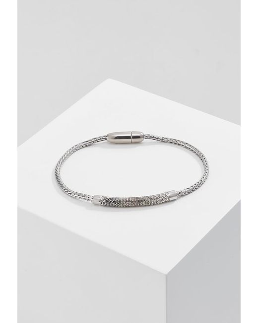 Fossil | Metallic Glitz Bars Bracelet | Lyst