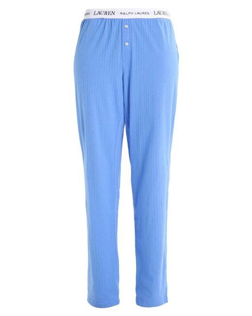 lauren by ralph lauren pyjama bottoms in blue lyst. Black Bedroom Furniture Sets. Home Design Ideas