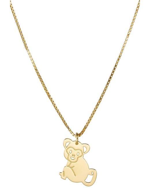 Malaikaraiss | Metallic Monkey Necklace | Lyst