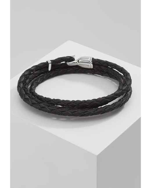 Miansai | Black Trice Bracelet for Men | Lyst