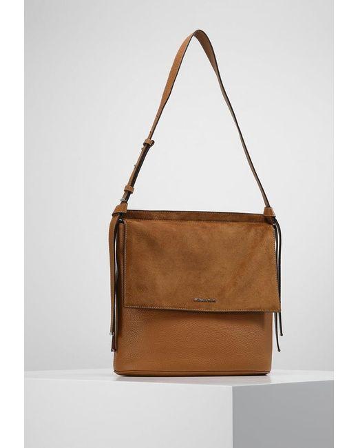 MICHAEL Michael Kors   Brown Across Body Bag   Lyst