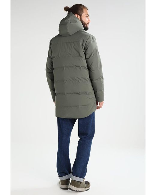 Patagonia Jackson Glacier Down Jacket In Green For Men Lyst