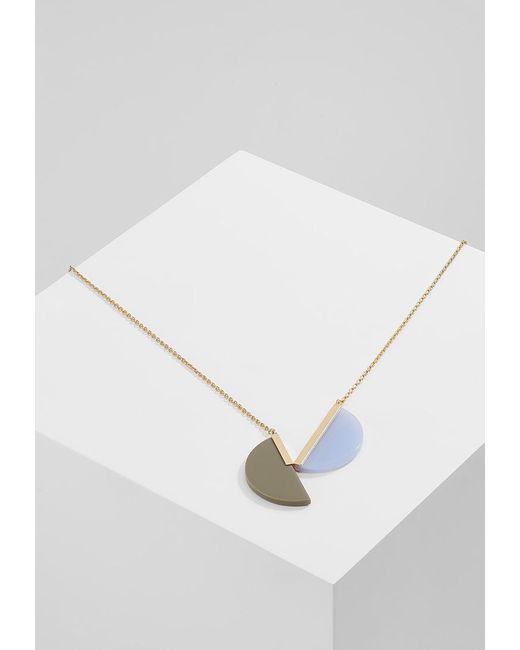 Sabrina Dehoff | Metallic Big City Sunrise Vs Moonrise Necklace | Lyst
