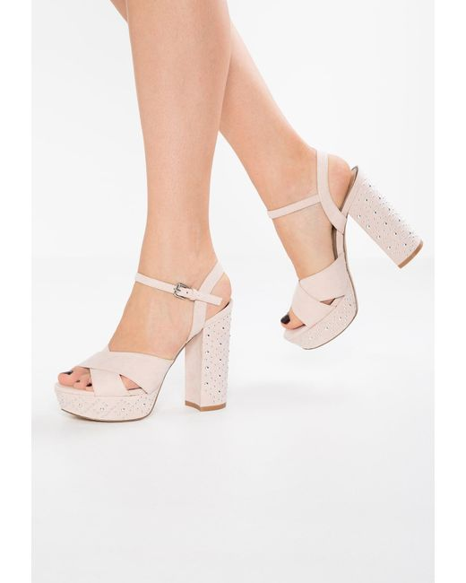 Miss Selfridge   Multicolor Crown Platform Sandals   Lyst