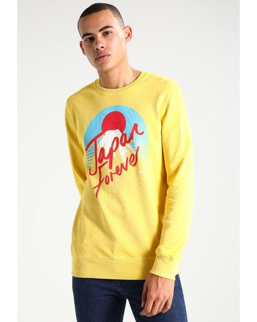 RVLT JAP - Sweatshirt - yellow Réduction À La Vente officiel Paiement Sécurisé Emplacements De Magasin De Sortie Livraison Gratuite À Acheter Se C6LaJ5vwZ9