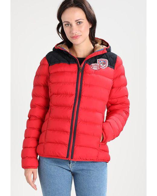 Napapijri | Red Articage Winter Jacket | Lyst