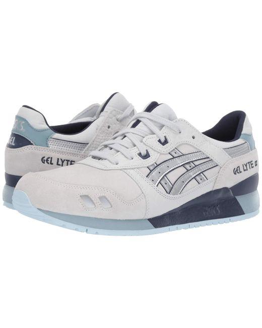 e107dd5babf84e Lyst - Asics Gel-lyte Iii (black mono) Men s Shoes in Gray for Men