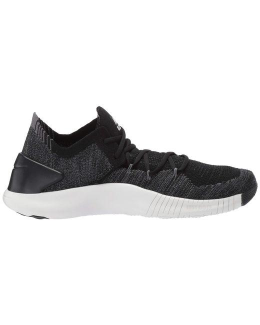 98b7c6d6a39b ... Nike - Free Tr Flyknit 3 (black dark Grey phantom) Women s Cross ...