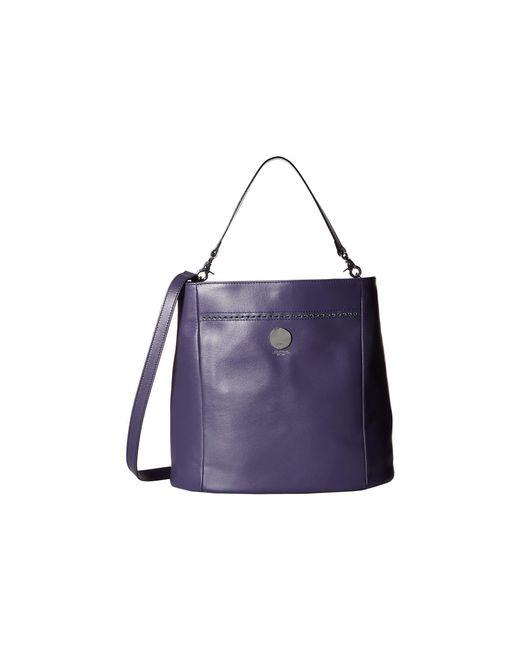 Lodis Purple Saratoga Parker Bucket Deep Violet Cross Body Handbags Lyst