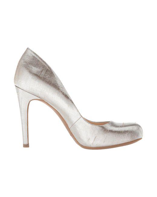 a7b37745cca8 ... Jessica Simpson - Metallic Calie (gold Multi) High Heels - Lyst ...