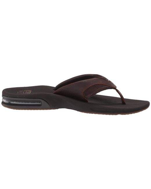 cb4b8327074a Lyst - Reef Fanning Leather (brown 2) Men s Sandals in Brown for Men
