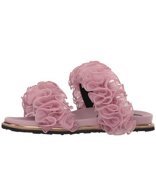 Suecomma Bonnie Chiffon Ruffle Detailed Flat Sandals XmtcSuiWre