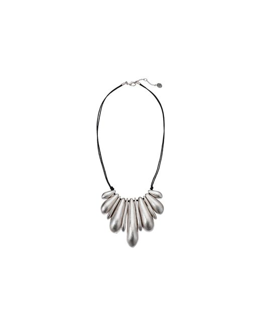 "The Sak - Metallic Nugget Frontal Necklace 18"" - Lyst"