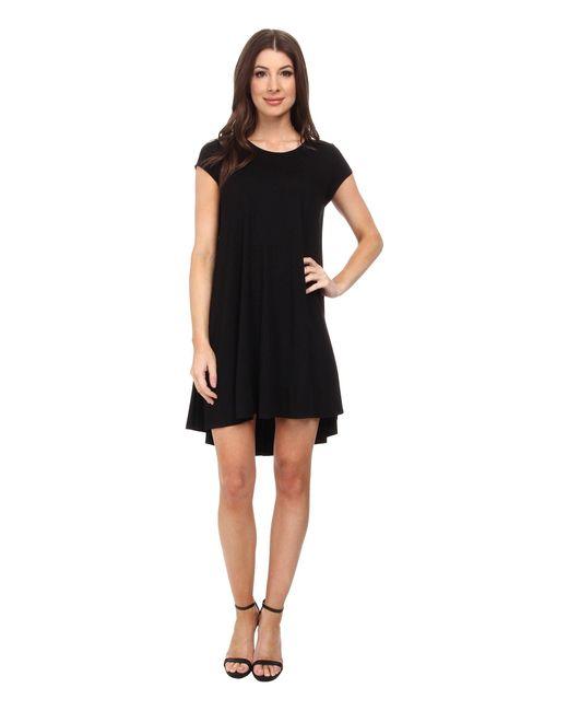 Karen Kane | Black Maggie Trapeze Dress | Lyst