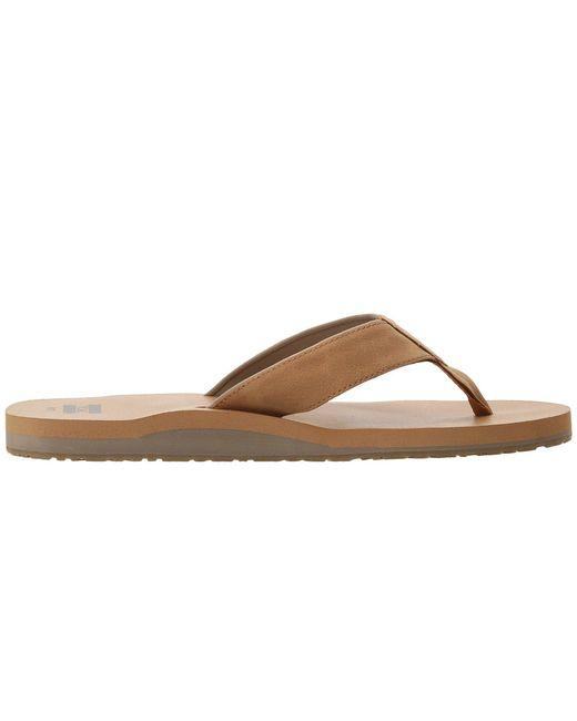 e3de1b6cd9ce Lyst - TOMS Carilo Flip Flop (toffee Brown) Men s Sandals in Brown ...
