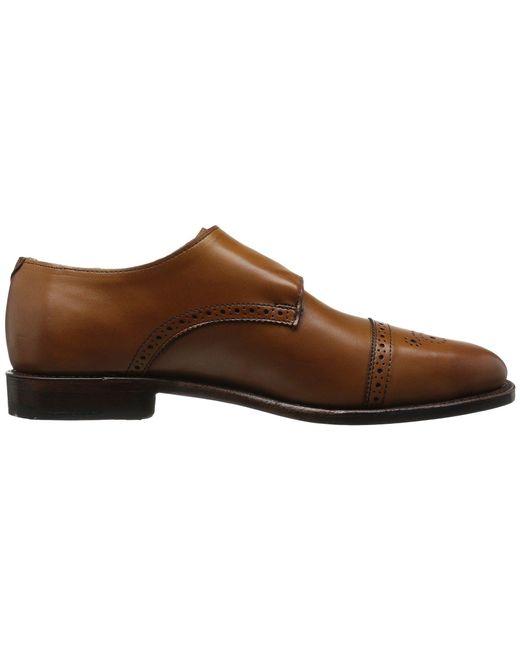 6944e8b4319 ... Lyst Allen Edmonds - Brown St.john s (chili) Men s Shoes for Men ...