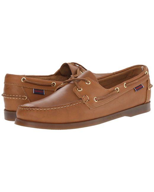 Sebago - Brown Docksides for Men - Lyst
