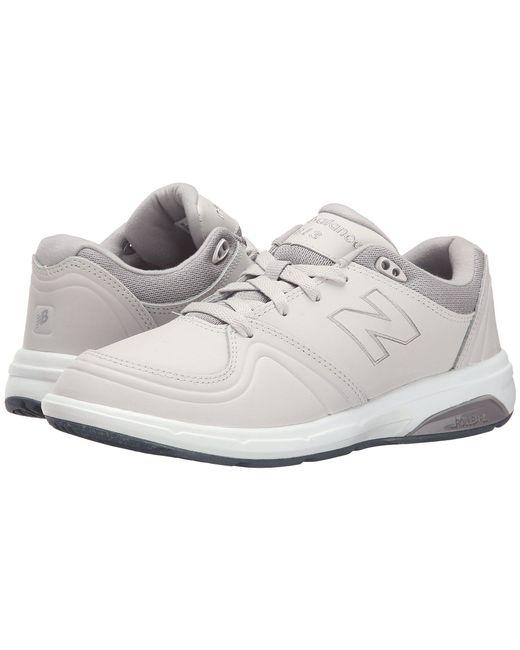 New Balance - Gray Ww813 (white) Women's Walking Shoes - Lyst