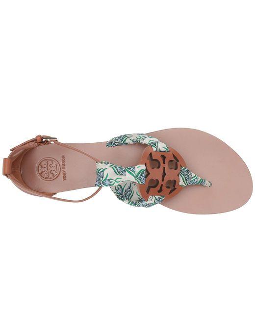 e9065cd65 ... Tory Burch - Blue Miller Scarf Sandal (royal Navy navy Soleil) Women s  Shoes ...