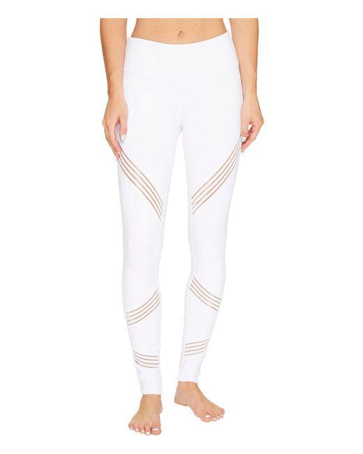 Alo Yoga - White Multi Leggings (black) Women's Casual Pants - Lyst