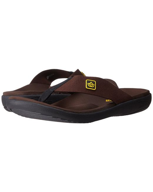 Spenco - Brown Pure Sandal (charcoal) Men's Shoes for Men - Lyst