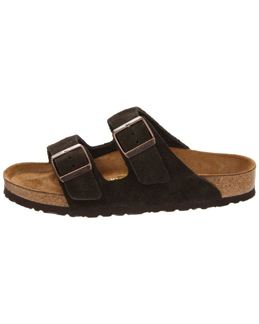 e8d8ecd2ff06 Lyst - Birkenstock Arizona - Suede (unisex) in Brown - Save 7%