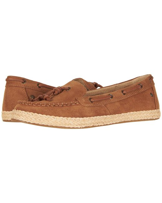 Ugg - Brown Channtal (chestnut) Women's Slip On Shoes - Lyst