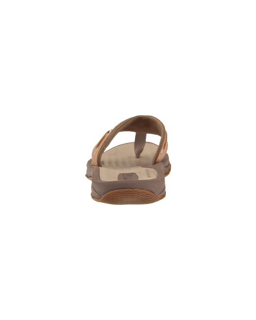 d79e6fb0df2 ... Sperry Top-Sider - Brown Top-sider Outer Banks Thong Sandal for Men ...