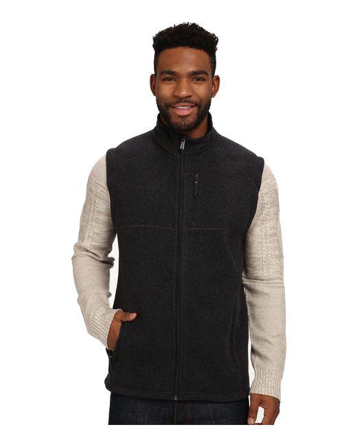 Smartwool - Black Echo Lake Vest for Men - Lyst