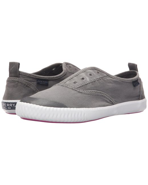 Sperry Top-Sider - Sayel Clew Ox Washed (white) Women's Lace Up Casual Shoes - Lyst