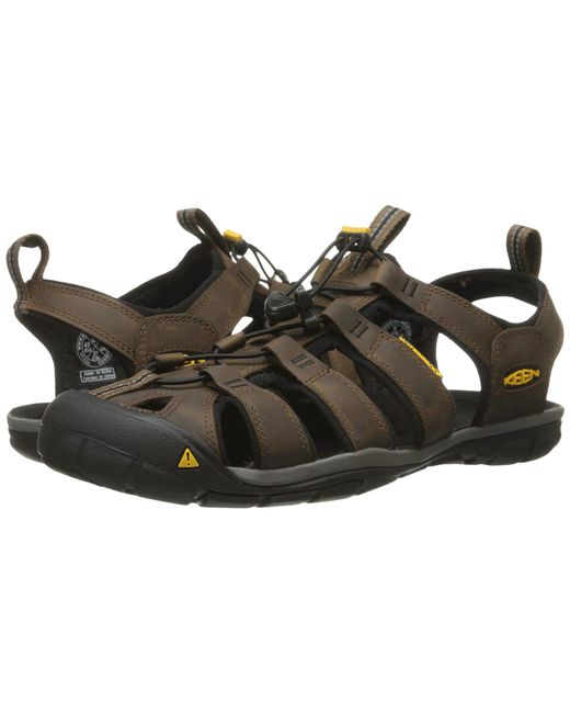 Keen | Black Clearwater Cnx Leather for Men | Lyst