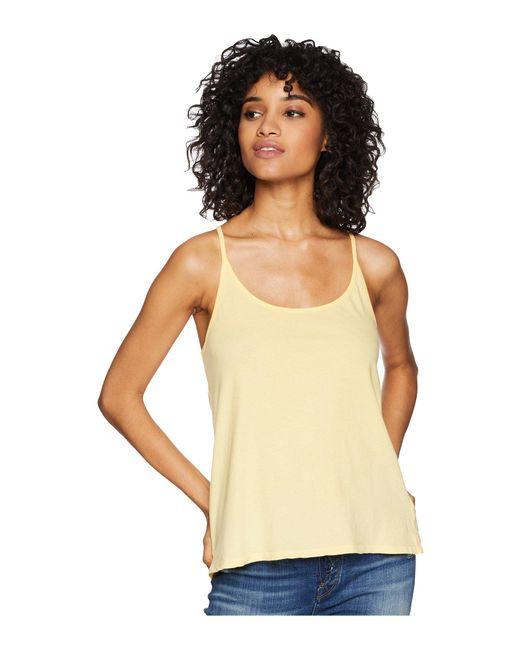 Amuse Society - Sungazer Tank Top (yellow) Women's Sleeveless - Lyst