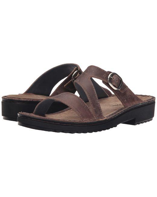 Naot | Brown 'paris' Sandal | Lyst