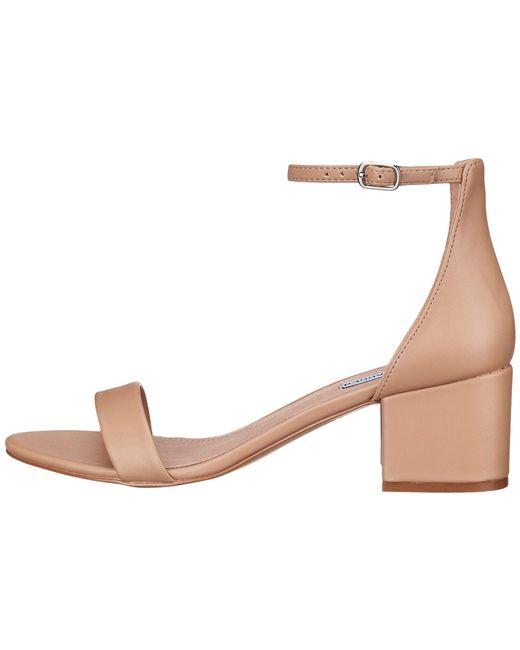 159b3d8ece9 ... Steve Madden - Natural Irenee Sandal (black Suede) Women s 1-2 Inch  Heel ...