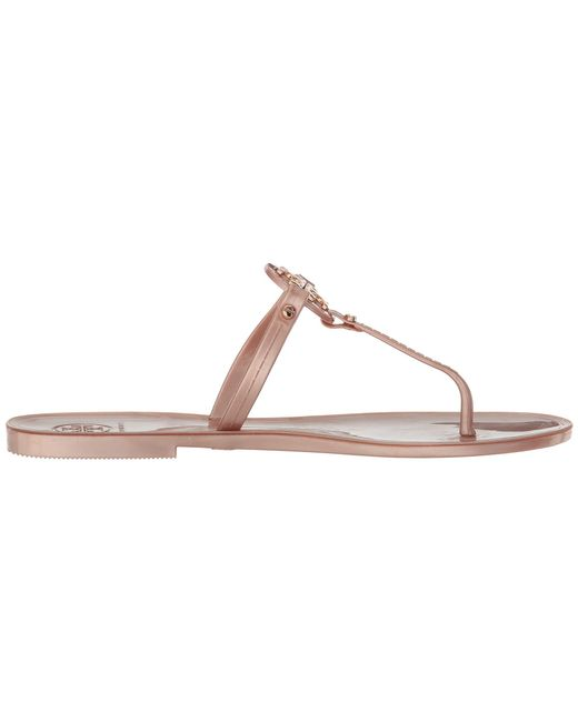 157a7bd97 ... Lyst Tory Burch - Pink Mini Miller Flat Thong (bondi Blue) Women s  Sandals ...