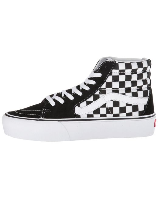 4aa6e2a75e346d ... Vans - Multicolor Sk8-hi Platform 2.0 (checkerboard true White) Skate  Shoes ...