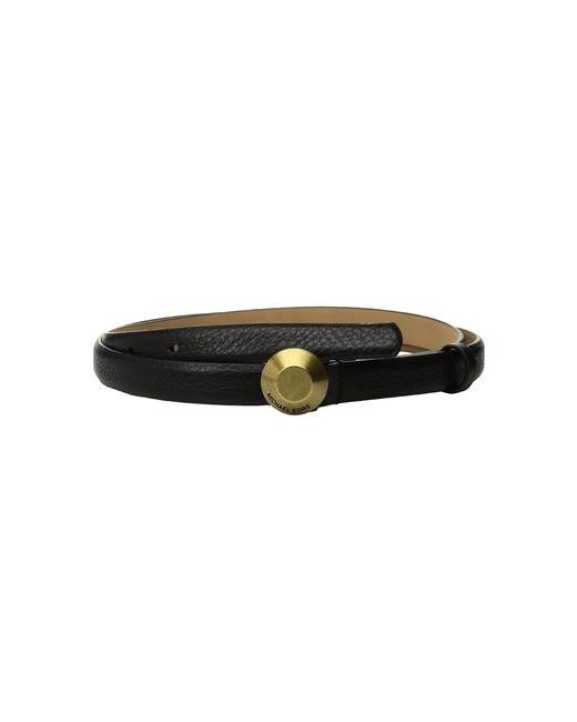 MICHAEL Michael Kors - 19mm Astor Buckle Belt (black) Women's Belts - Lyst