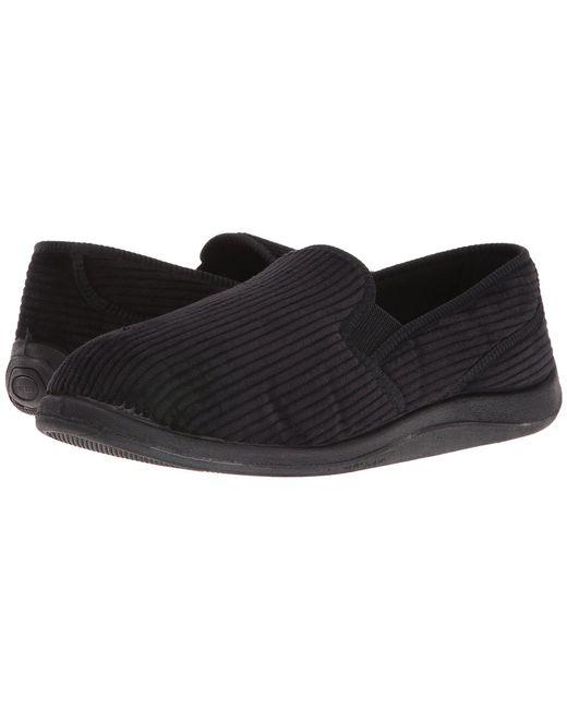 Foamtreads - Black Ascot (charcoal Corduroy) Men's Slippers for Men - Lyst