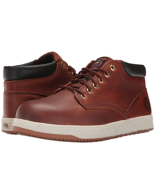 Skechers Work | Brown Ossun - Amokine for Men | Lyst