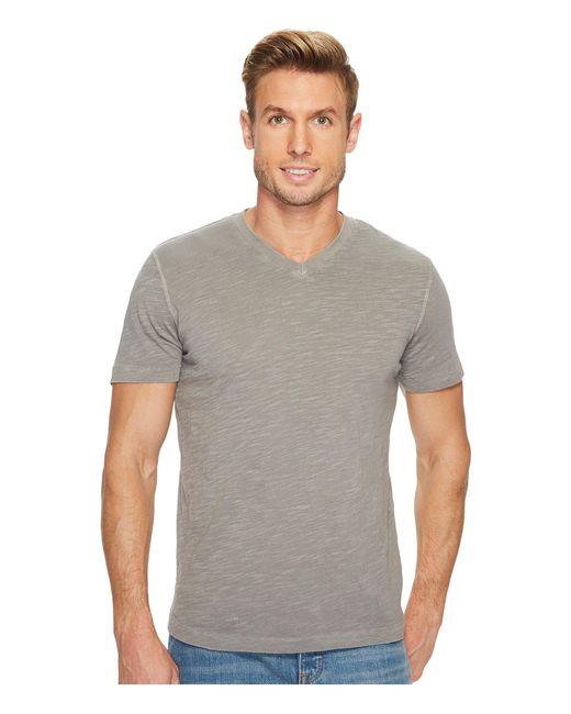Mod-o-doc | Gray El Porto Short Sleeve V-neck Tee for Men | Lyst