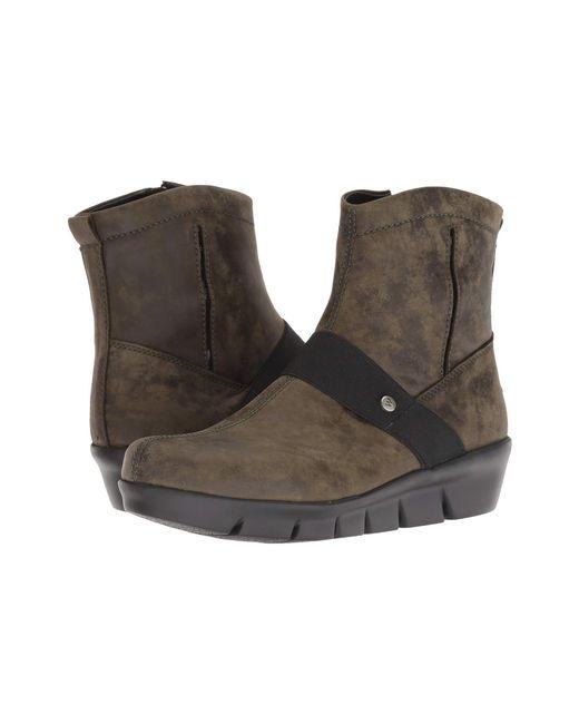 Wolky - Brown Omni (mocha) Women's Shoes - Lyst