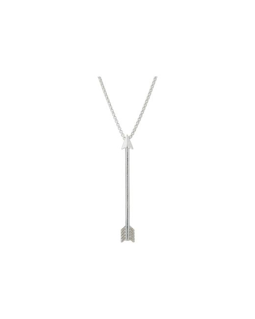 ALEX AND ANI - Metallic 18 Arrow Necklace (sterling Silver) Necklace - Lyst