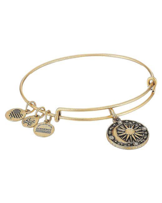 ALEX AND ANI - Metallic Cosmic Balance Ii Bangle (rafaelian Silver) Bracelet - Lyst
