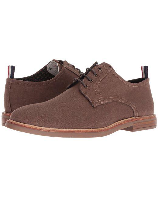 Ben Sherman - Brent Plain Toe (brown Canvas) Men's Shoes for Men - Lyst
