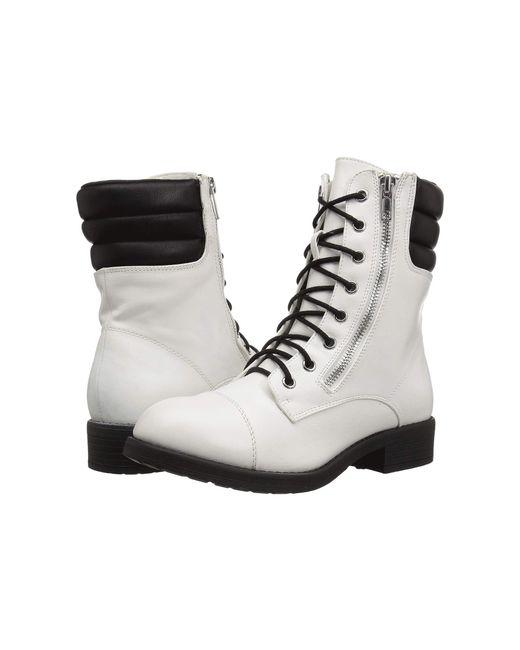 MIA - White Maeva (black) Women's Shoes - Lyst
