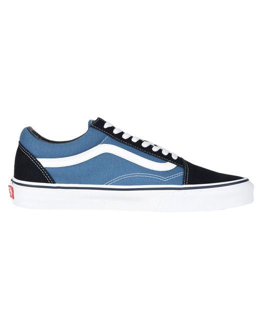5ed6b4827e ... Vans - Blue Old Skooltm Core Classics (black pewter) Shoes for Men ...