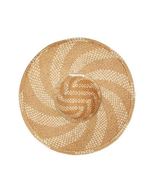 ... San Diego Hat Company - Pbl3089os Spiral Woven Paper Sun Brim (natural black)  ... ba4ac9958bfa