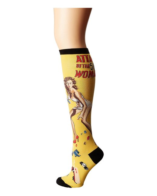 Socksmith - Yellow Attack Of The 50 Ft Woman - Lyst