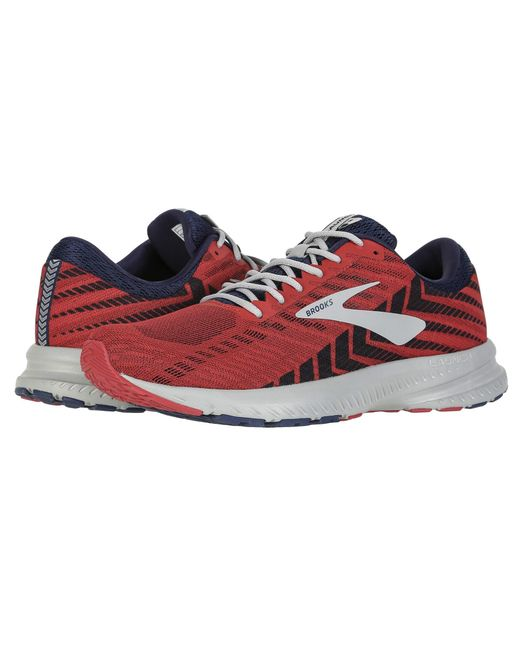 b5a93a0dabf Brooks - Multicolor Launch 6 (blue nightlife white) Men s Running Shoes for  ...