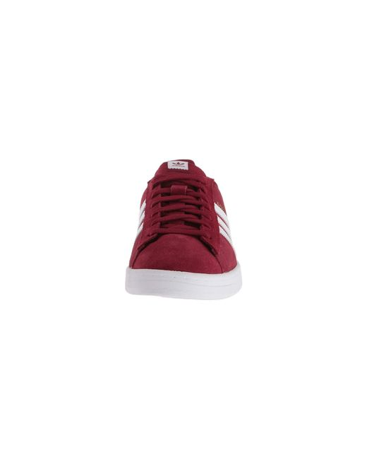 c91a02b709c promo codes lyst adidas campus adv shoes in red for men b14e2 a531c ...
